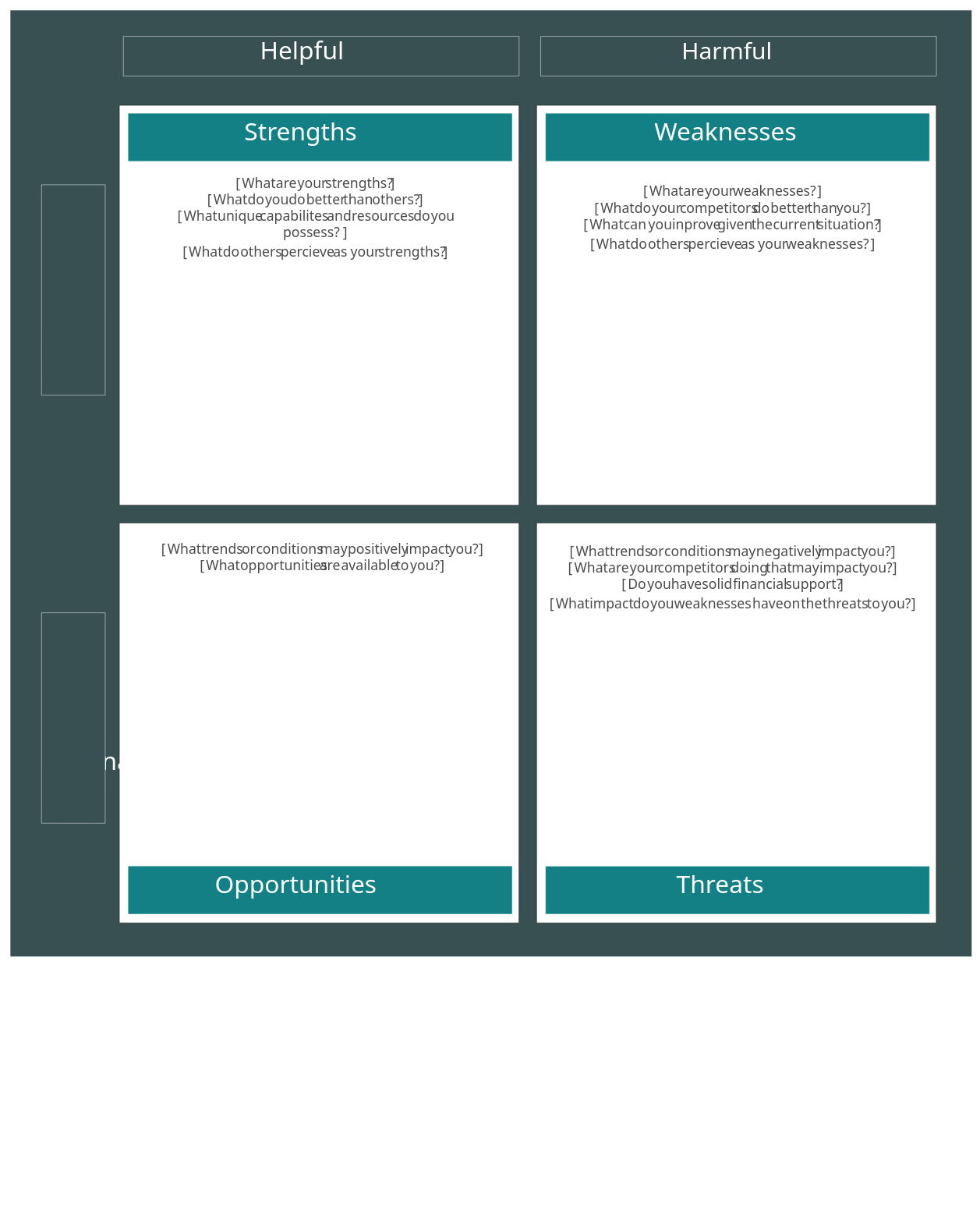 SWOT Analysis Template 9